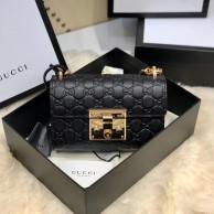 Sac à épaule Padlock Gucci Signature petite taille